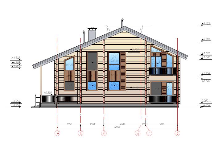 1×002-Проект 2 этажного дома 13×16 300м.кв.